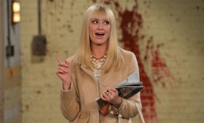SOURCE: Actress Beth Behrs from CBS' 2 Broke Girls